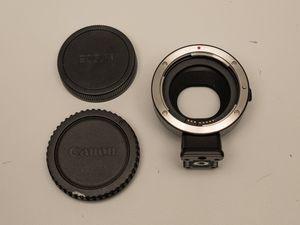 Canon Lens Adapter Canon EF - Canon EF-M (Genuine Canon) for Sale in Seattle, WA