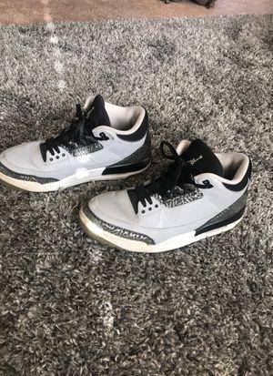 Air Jordan Retro 3s Wolf Gray for Sale in Tacoma, WA