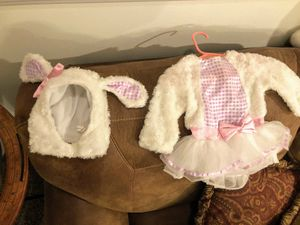 Little bo peeps sheep baby costume size 6-9 mo for Sale in Altamonte Springs, FL