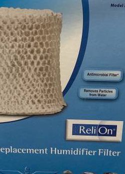 In Box Relion Replacement Humidifier Filter Model: RWF2 - Fits Models: Vicks V3700, Vicks V3900 & Relion WA-8D for Sale in Chapel Hill,  NC