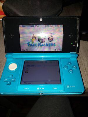 Nintendo 3DS Aqua blue - Good condition for Sale in Los Angeles, CA