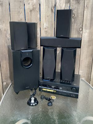 Onkyo amplifier and Speakers for Sale in National City, CA