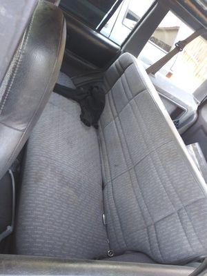 97-01 jeep xj rear seat good shape for Sale in Hesperia, CA