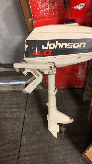 Johnson 2.0 boat motor for Sale in Columbus, OH