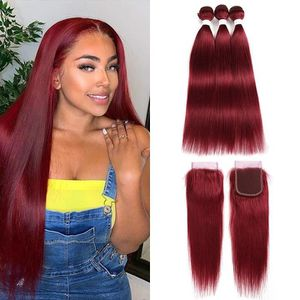 BRAZILIAN STRAIGHT HUMAN HAIR WITH CLOSURE for Sale in Riverview, FL