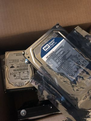 "Hard drives, refurbished, 250GB, 160GB, 3.5"" and 2.5"" laptop for Sale in Sacramento, CA"