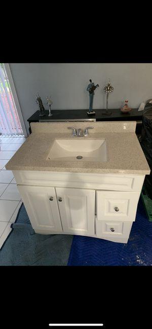Vanity, toilet, mirror, medicine cabinet.. All for $200 for Sale in Pembroke Pines, FL