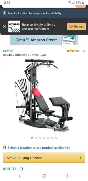 Bowflex ultimate 2 for Sale in Independence, MO