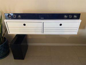 Samsung Soundbar and Subwoofer for Sale in Tempe, AZ