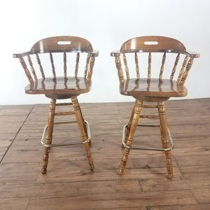 Wooden Swivel Bar Stools (1025473) for Sale in South San Francisco, CA