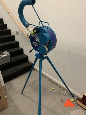 Jugs small ball machine with bucket of balls for Sale in Litchfield Park, AZ