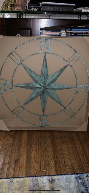 Large distressed metal wall decor for Sale in South Gate, CA