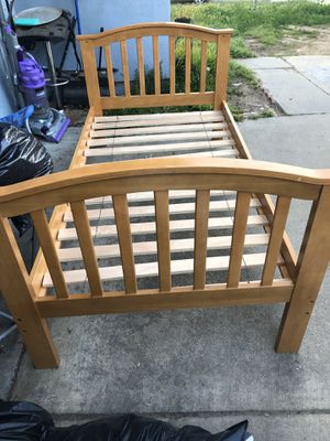 Frame for bed twin for Sale in Riverside, CA