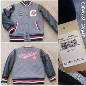 Girls Converse Jacket for Sale in Manassas, VA