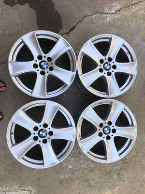 "Bmw 18"" X5 set wheels rims factory oem original for Sale in Palos Verdes Peninsula, CA"