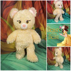 """16"""" Build a Bear Princess BELLE Beauty & Beast Disney Stuffed Plush Teddy for Sale in Dale, TX"""