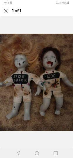 Set of 2 Voodoo Dolls for Sale in Rockville,  MD