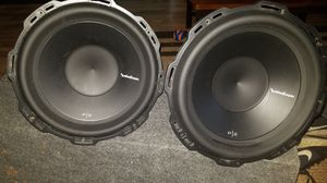 Rockford Fosgate Punch 12in subs. for Sale in Bonney Lake, WA