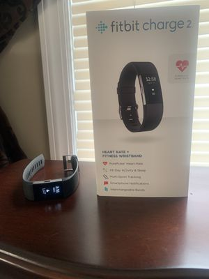 Fitbit Charge 2 Activity Tracker for Sale in Haddon Heights, NJ