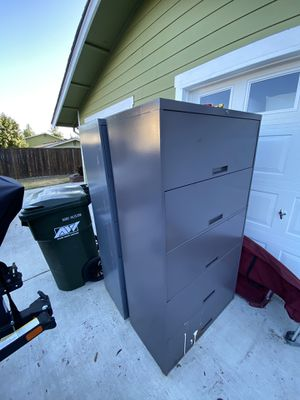 2 Metal Cabinets for Sale in Federal Way, WA