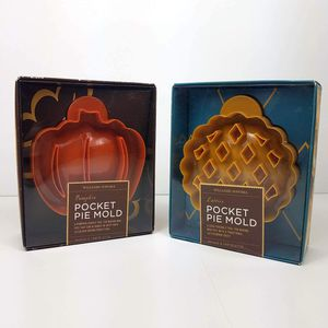NIB Williams Sonoma Pumpkin and Lattice Pocket Pie Mold NWT for Sale in Harriman, NY