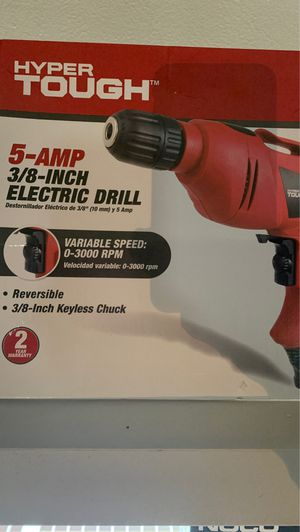 5 amp3/8 inch drill for Sale in Columbus, OH