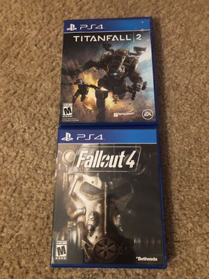 PS4 GAMES(Titanfall 2, Fallout 4) for Sale in Las Vegas, NV