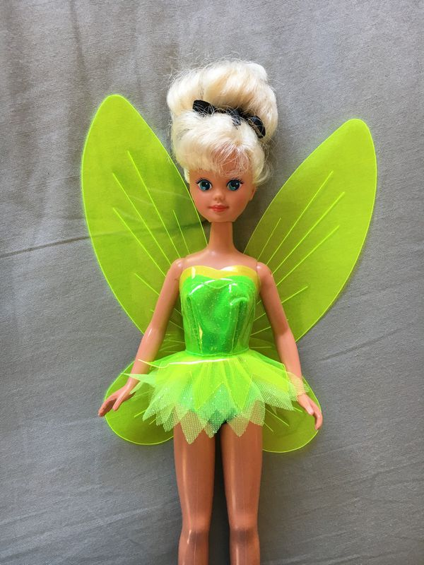 Vintage 1993 Tinker Bell Barbie doll