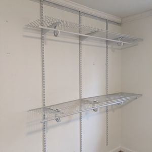 Closetmaid Wall Mounted Wire Shelves for Sale in Redwood City, CA