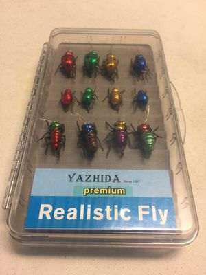 Fishing Hooks / Premium Realistic Fly / Yazhida / Fresh Water / For Trout 🎣 for Sale in El Monte, CA