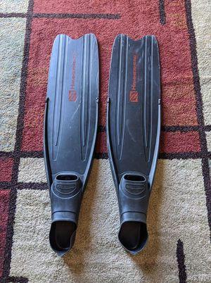 Freediving Fins Hammerhead Size 8-9 for Sale in Mohrsville, PA