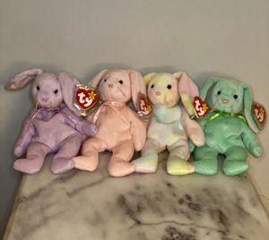 TY Original Beanie Babies Bunnies for Sale in San Leandro, CA