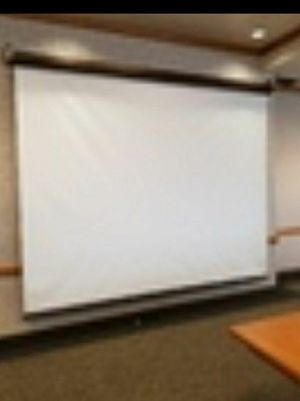 10 foot projector screen for Sale in Salt Lake City, UT
