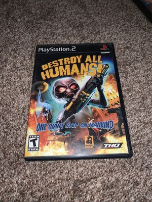 Destroy All Humans! for PS2 for Sale in Louisville, CO