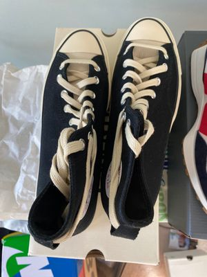 Converse fear of god size 10 trade for nike space hippie 02 size 10 for Sale in Glenview, IL