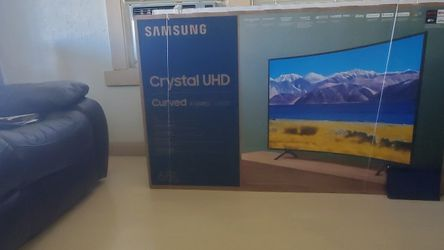 """New! 65"""" Samsung Curved 4k Ultra HDR SMART TV In The Box for Sale in Hayward,  CA"""