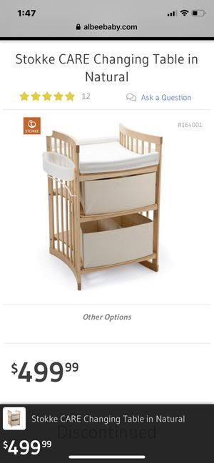Baby Changing Table- Stokke - Gently Used for Sale in Shorewood, WI