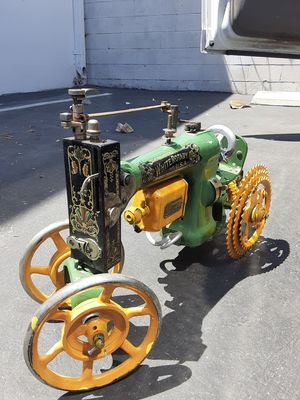 Folk art John Deere sewing machine tractor OBO for Sale in Upland, CA