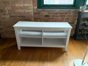 White Ikea dresser TV stand book case for Sale in Chicago, IL