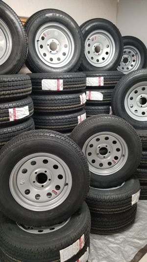 NEW TRAILER AND CAMPER TIRES/WHEELS STARTING AT $70+TAX AND UP (SEE BELOW) for Sale in Douglasville, GA