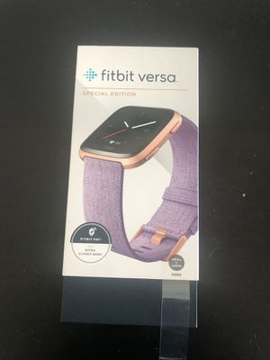 Fitbit Versa Special Edition Box (Box Only) for Sale in Miami Beach, FL