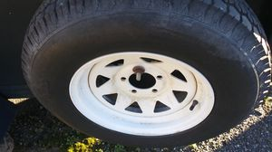Trailer tires & rims 13 in 14 in 15 in for Sale in Suitland, MD