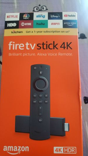 Firestick 4k with Alexa voice remote for Sale in El Paso, TX