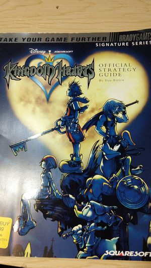 Kingdom hearts official strategy guide for Sale in Kenmore, WA