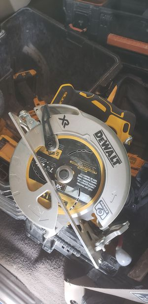 dewalt xr skillsaw 7.25 blade for Sale in Fresno, CA