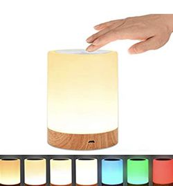 Night Light, UNIFUN Touch Lamp for Bedrooms Living Room Portable Bedside Table Lamps with Internal Rechargeable Battery Dimmable 2800K-31 for Sale in La Habra Heights,  CA