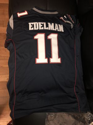 New England Patriots Edelman Jersey for Sale in Plainfield, IL
