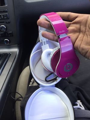 Pink Studio Beats For $70 for Sale in Riverview, FL
