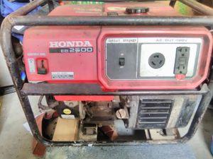 2500 honda generator for Sale in Columbus, OH