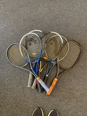 Tennis rackets 6x for Sale in Oklahoma City, OK